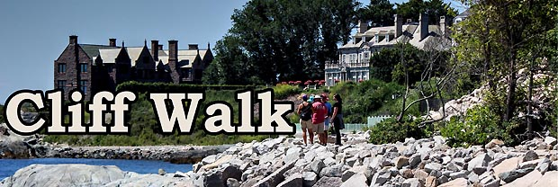 Newport Ri S Cliff Walk Combines Ocean Views Mansions And A Rocky S Line Into A 3 5 Mile Federally Listed Recreational Walk